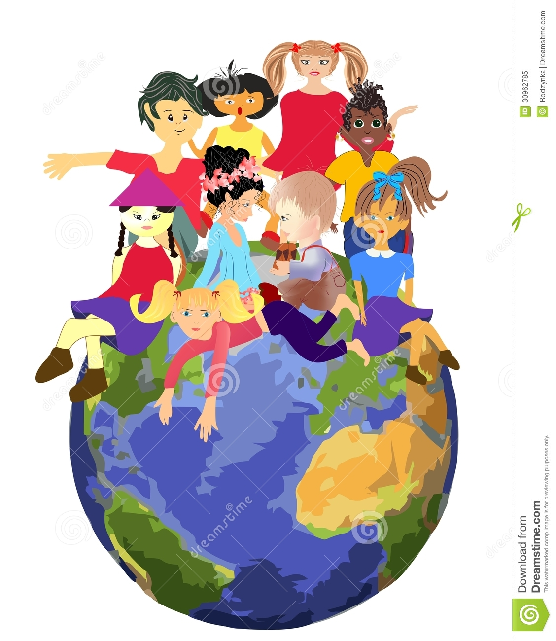 Children Planet Royalty Free Stock Photo - Image: 30962785 Happy Child Clipart
