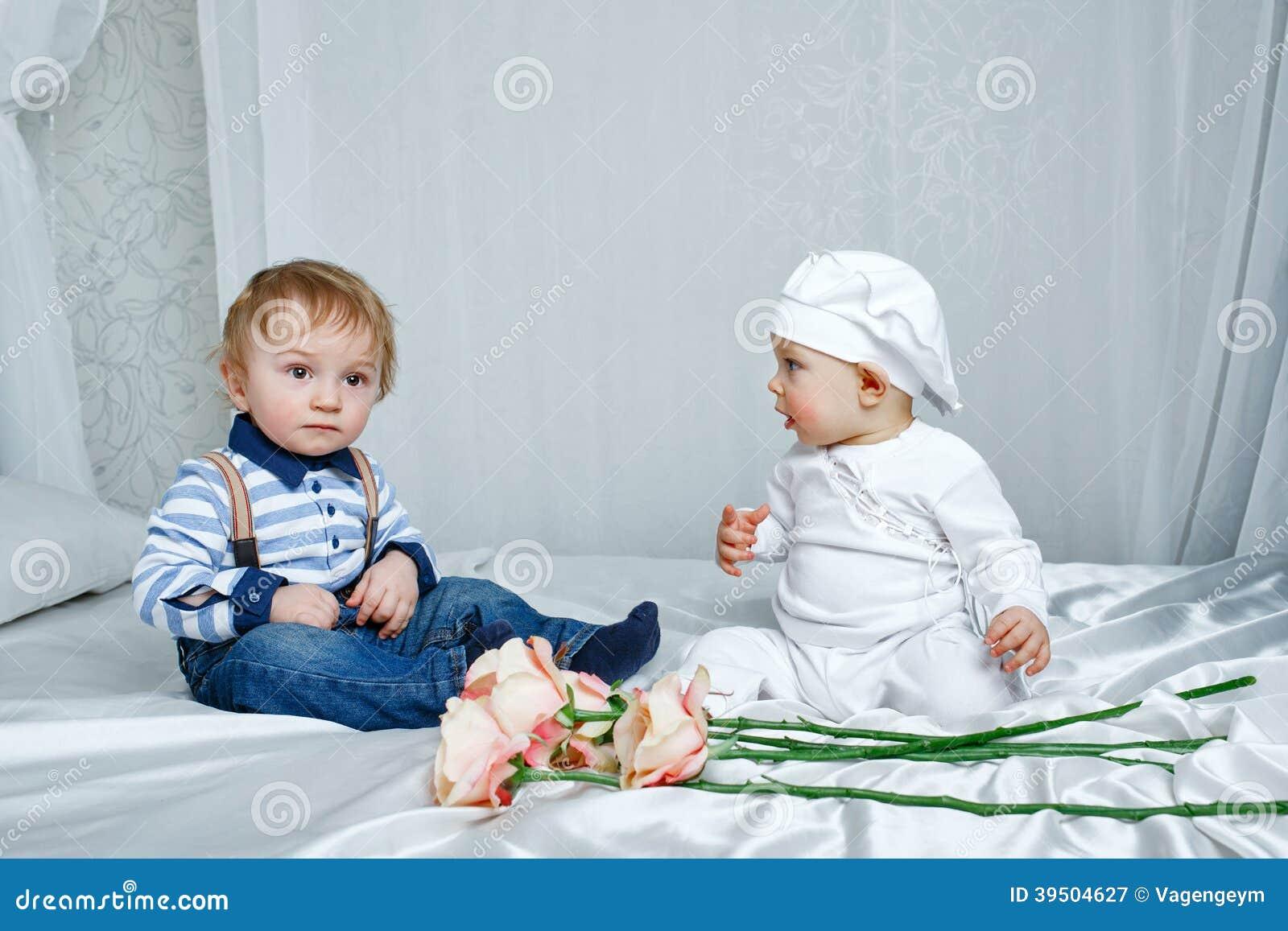 Children play bedroom