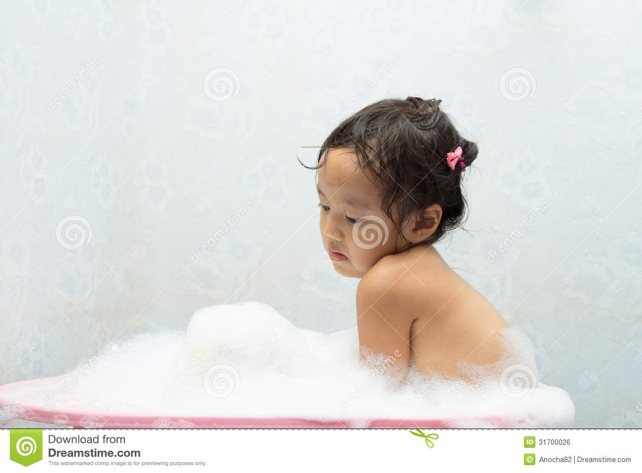 Royalty free stock image children play in the water
