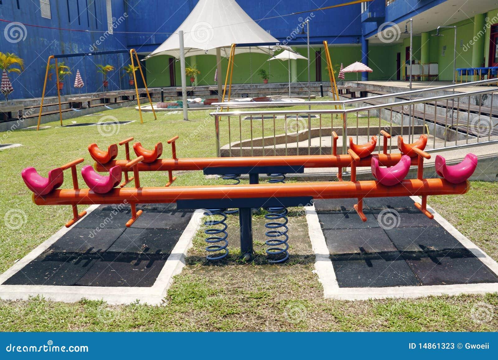 Children playground.