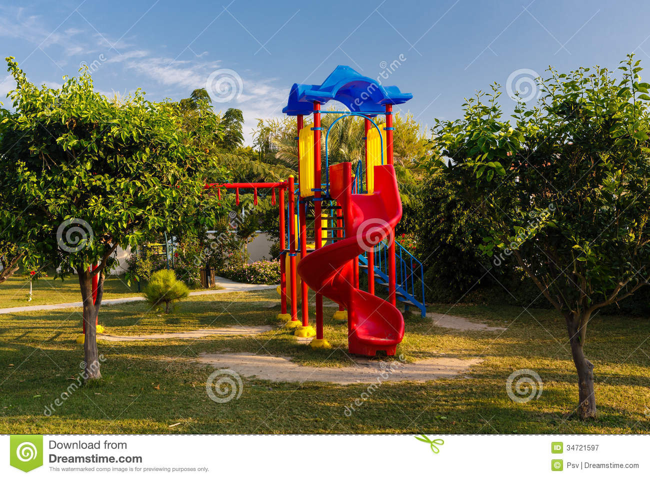 Children Playground Royalty Free Stock Photography - Image ...