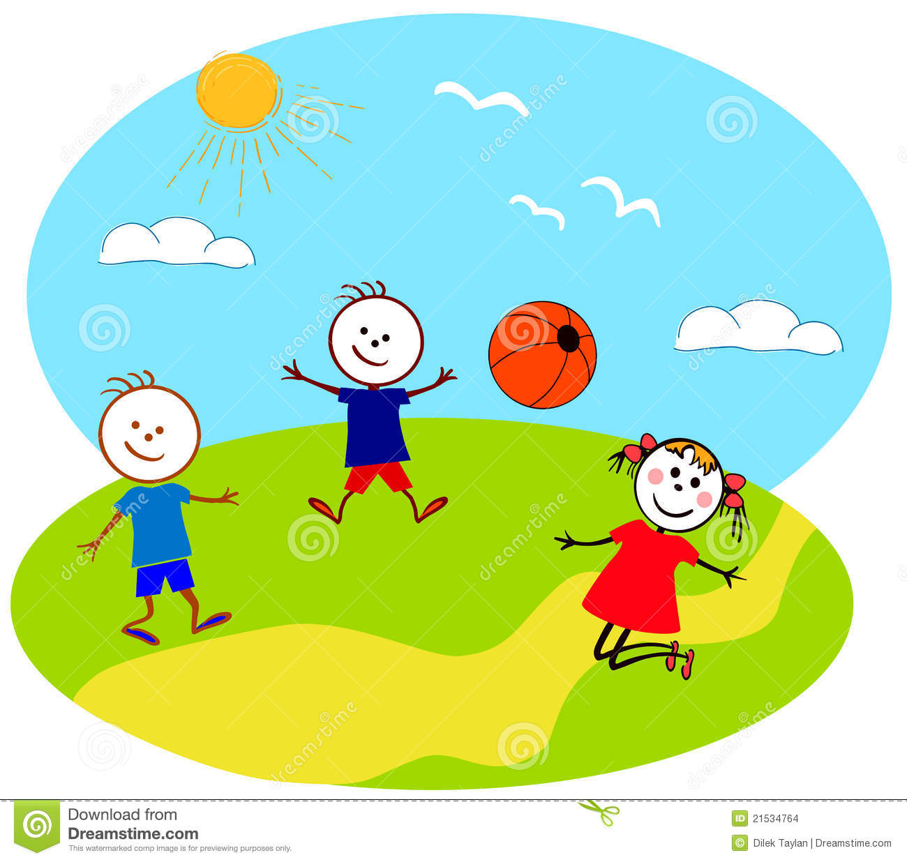 Children Playing Stock Images - Image: 21534764