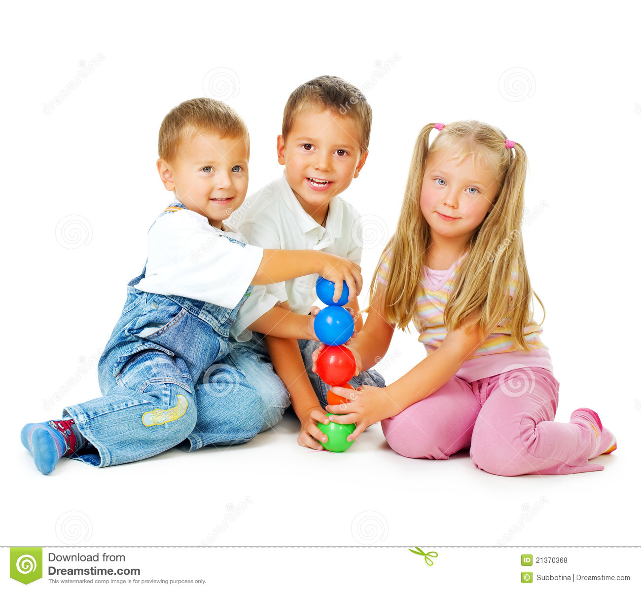 Home Design Game Id Children Playing On The Floor Royalty Free Stock Photos