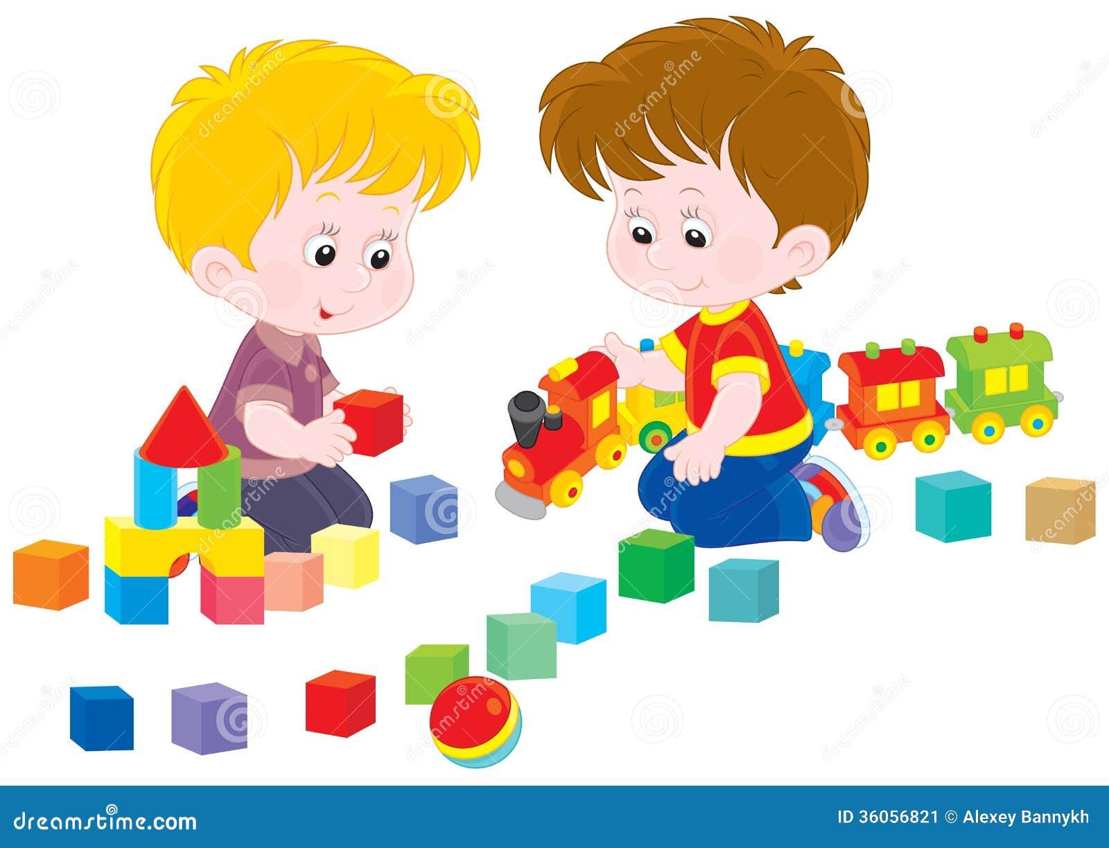 Children Playing Stock Image Image 36056821
