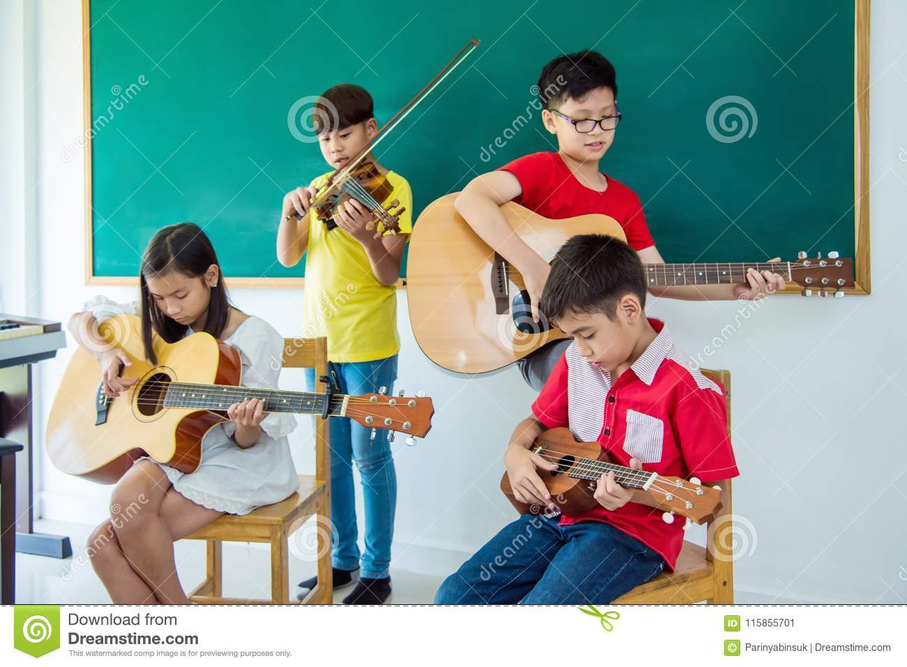 playing music in the classroom