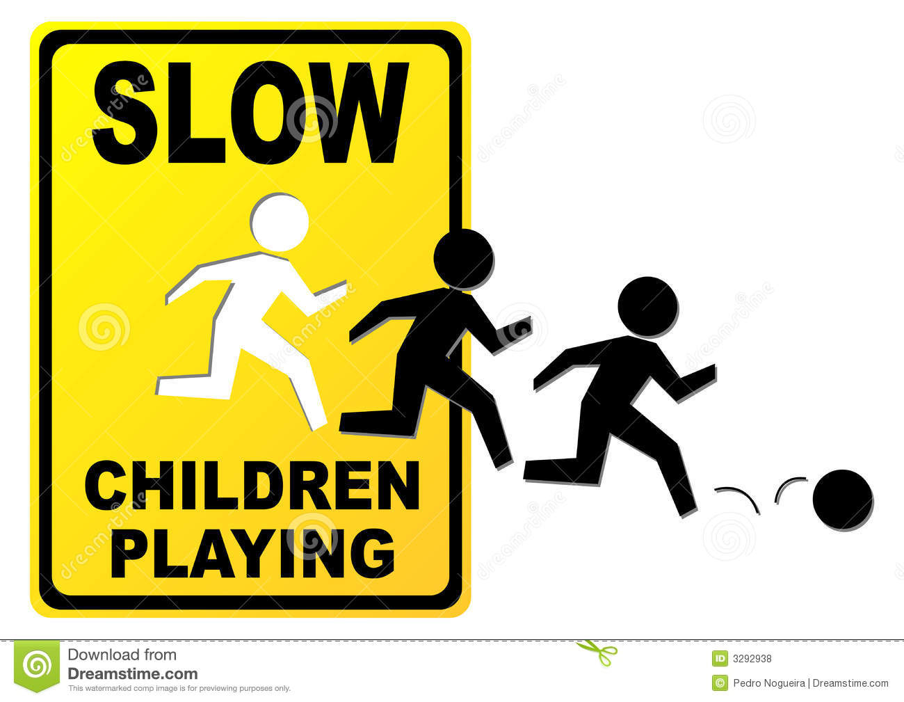Children Playing Sign Royalty Free Stock Photos - Image ...