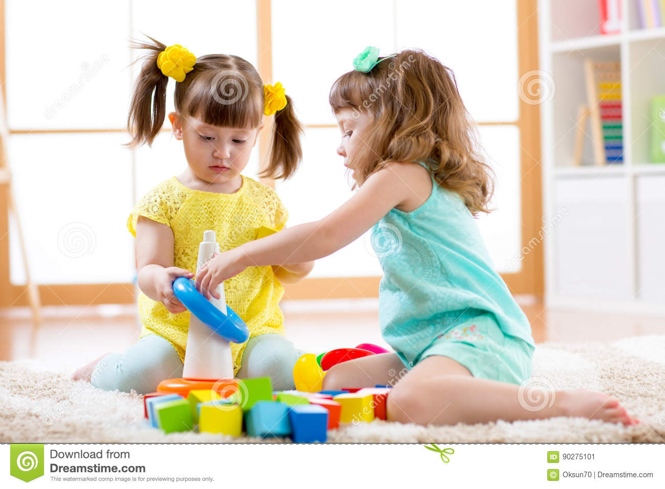 Children Playing Together Stock Photos - Royalty Free Pictures-5381