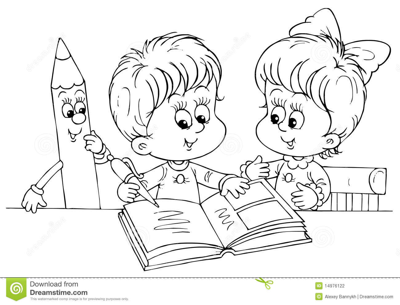 Royalty Free Stock Photo Download Children Reading