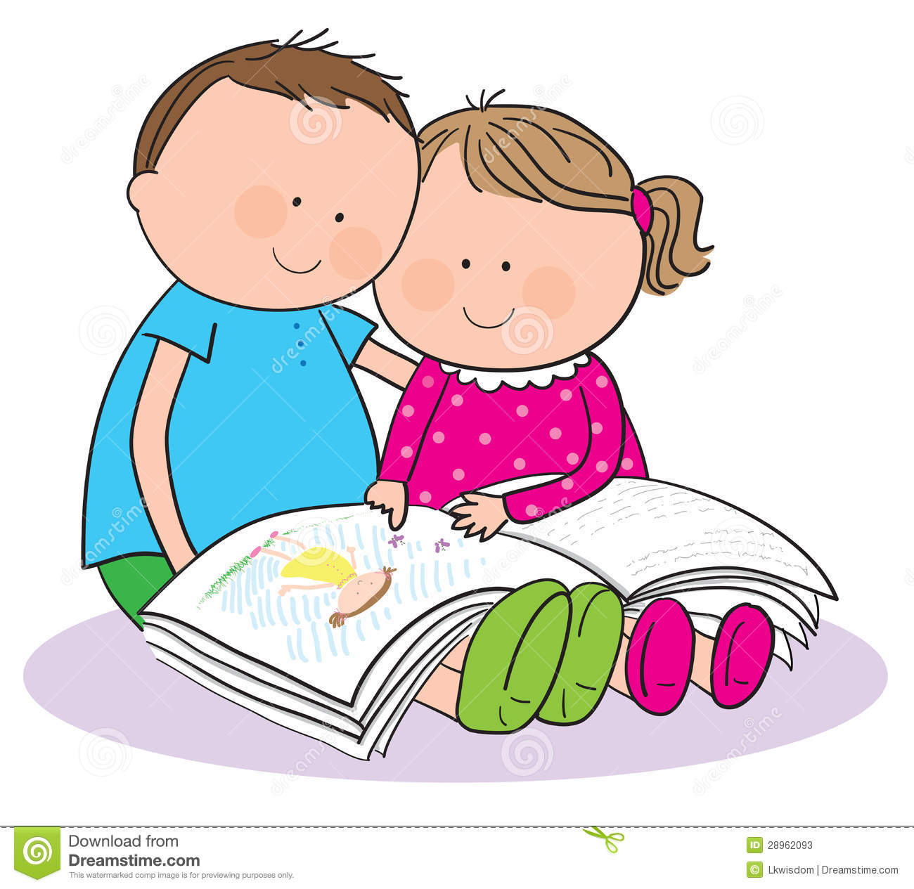 clipart family reading together - photo #33