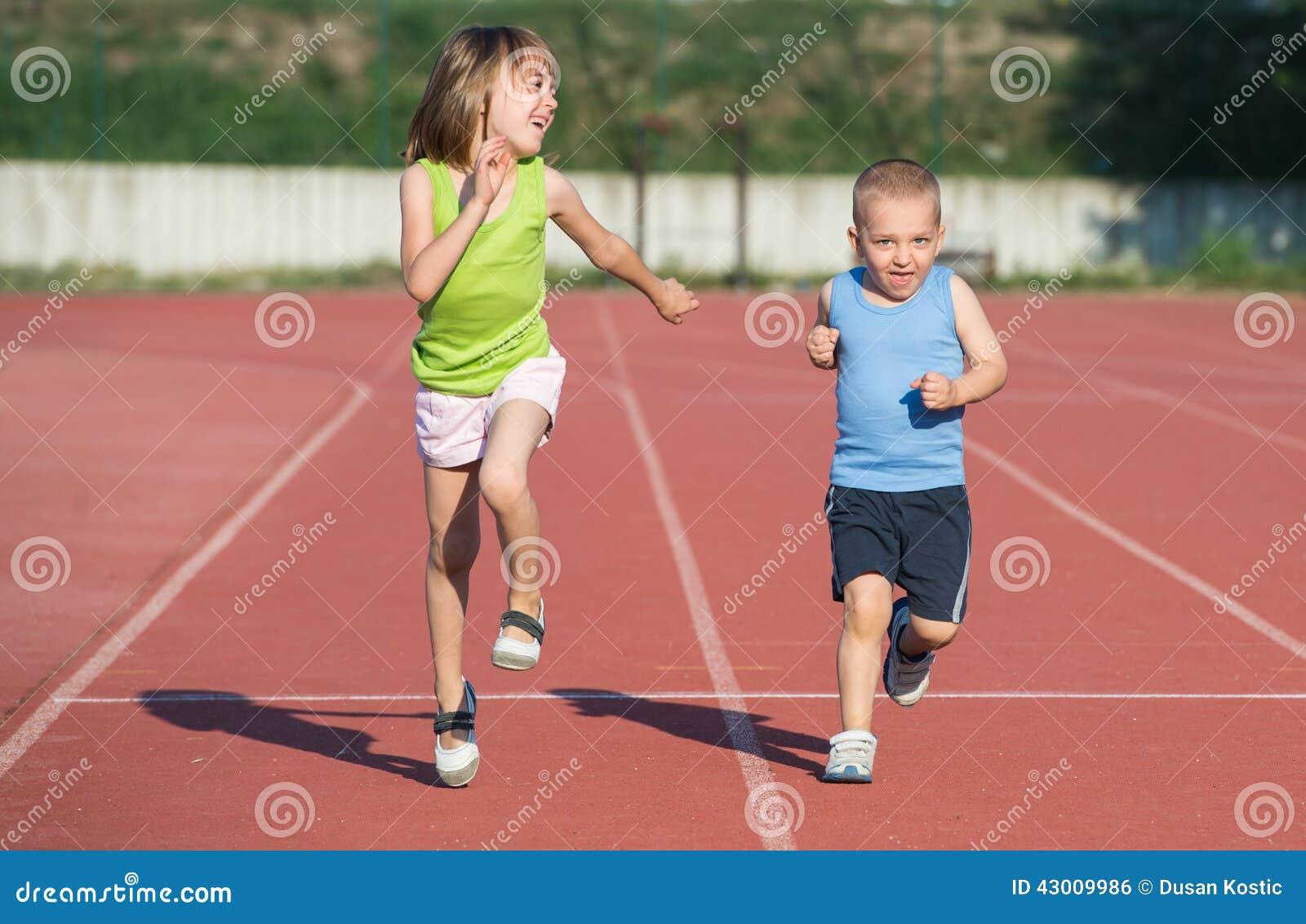 Children Running Stock Photo - Image: 43009986