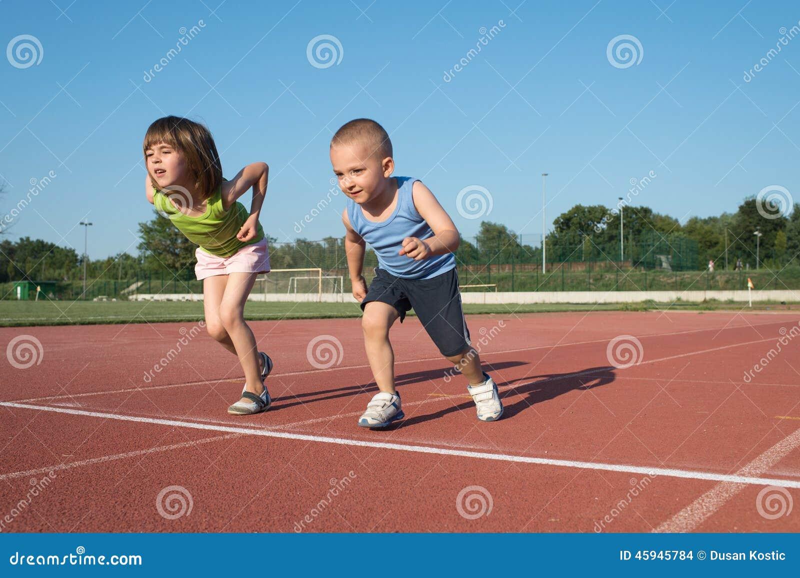Children Running Stock Photo - Image: 45945784