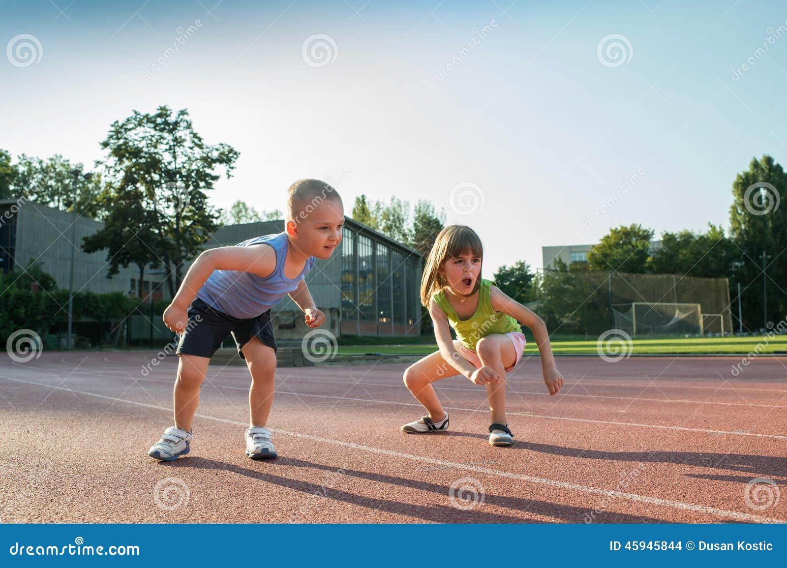 Children Running Stock Photo - Image: 45945844