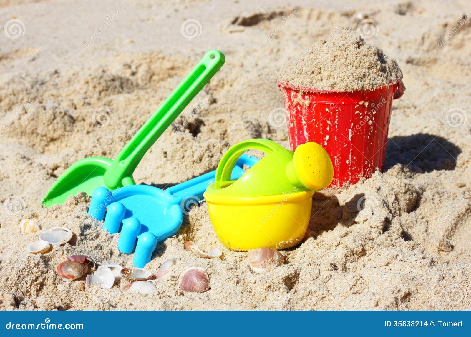 Beach Sand Toys For Kids : Children s beach toys bucket spade and shovel on sand