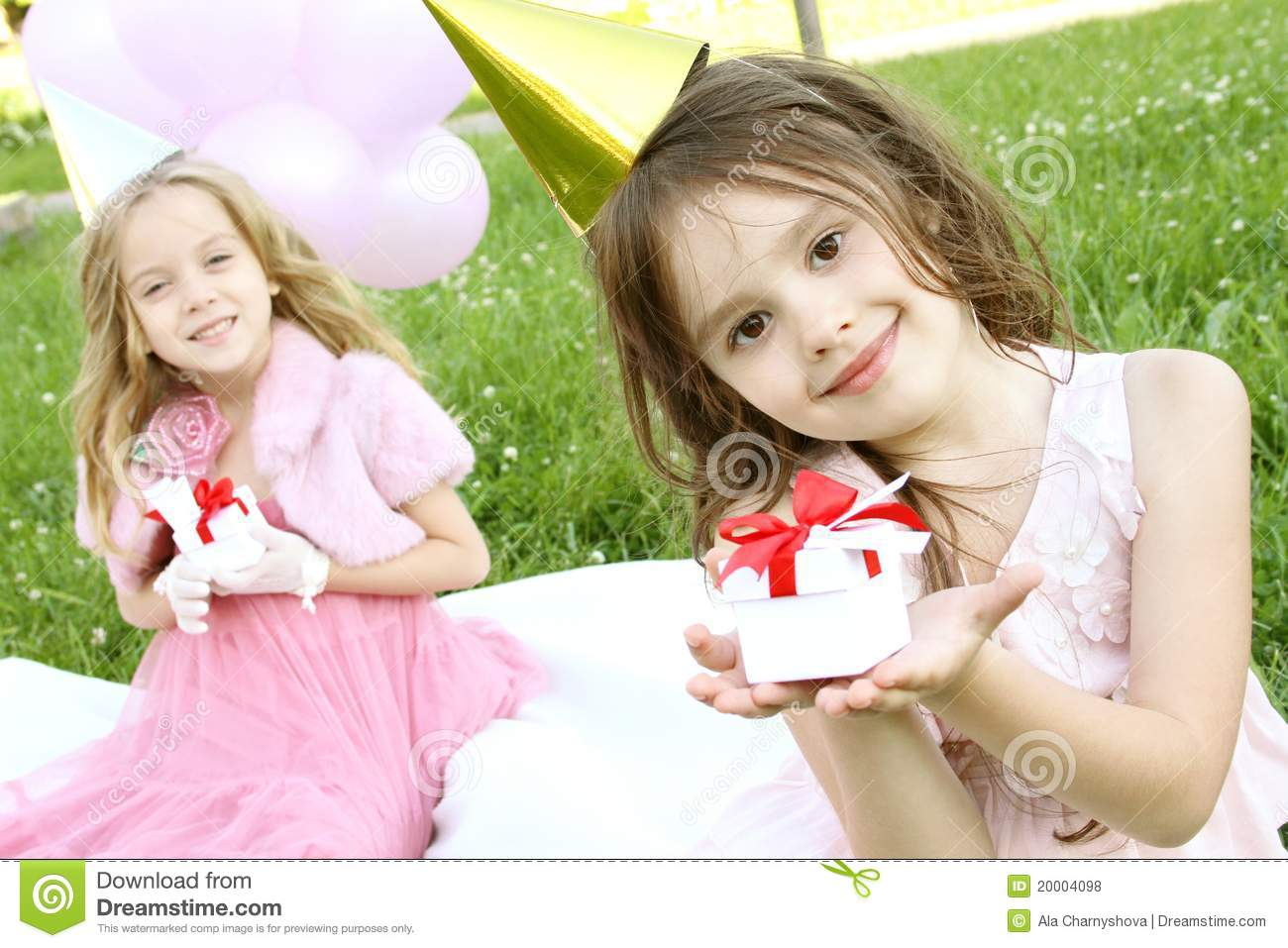 Children s Birthday Party outdoors
