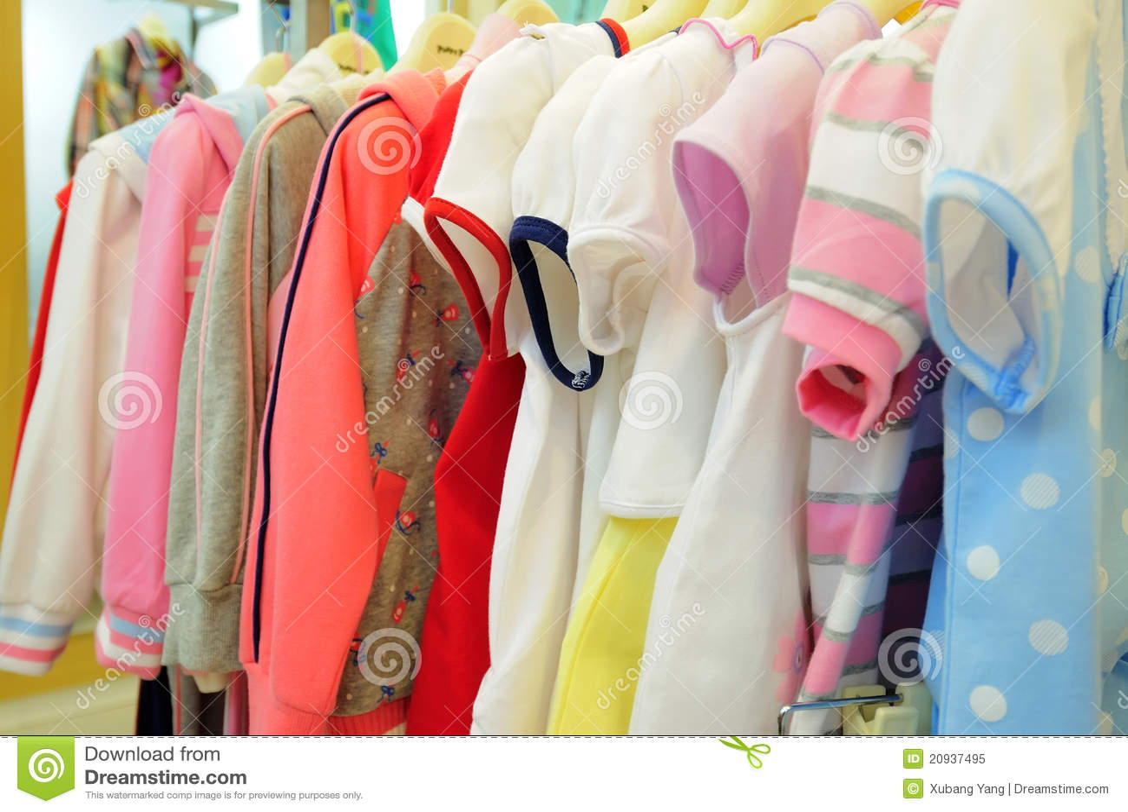 Children s clothing royalty free stock photo image 20937495