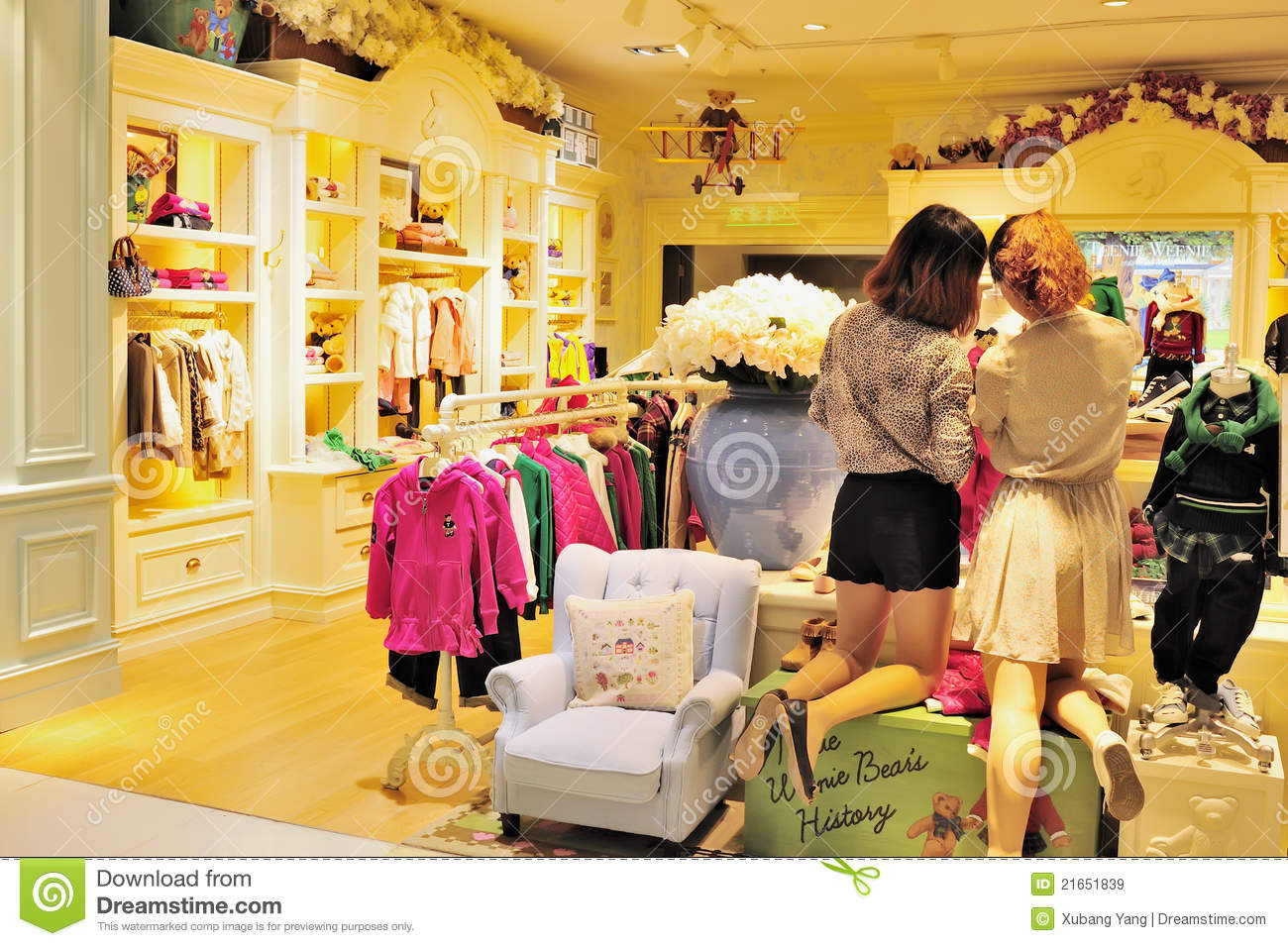 Childrens clothing stores