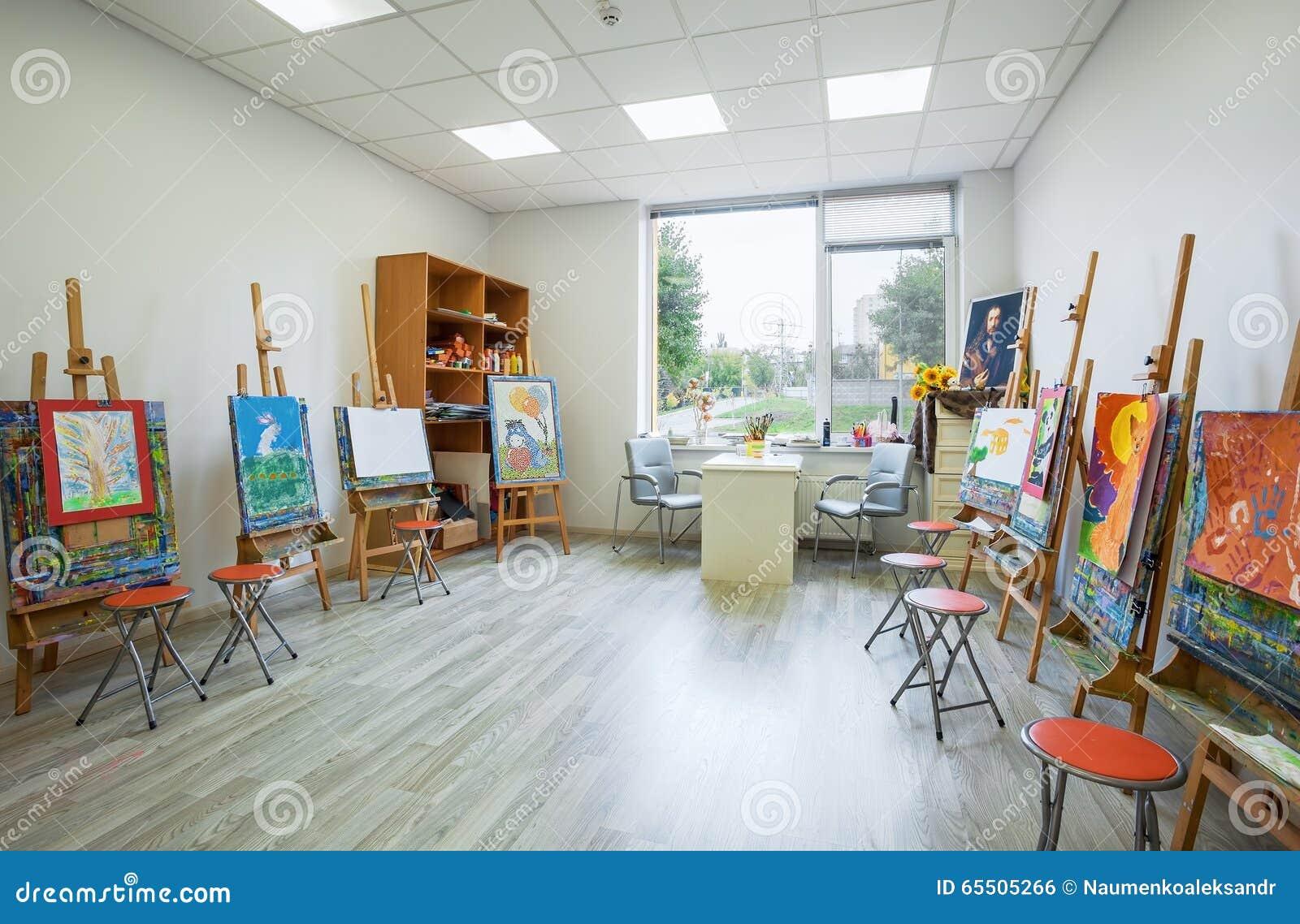 Academy Children Class Drawing Interior