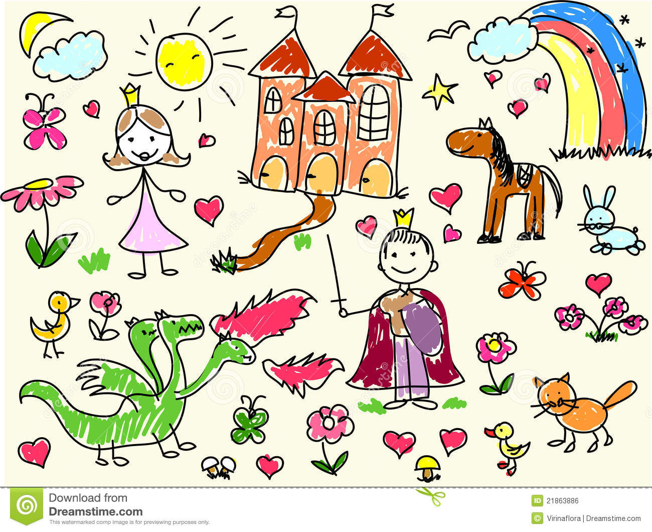 royalty free stock photo download childrens drawings