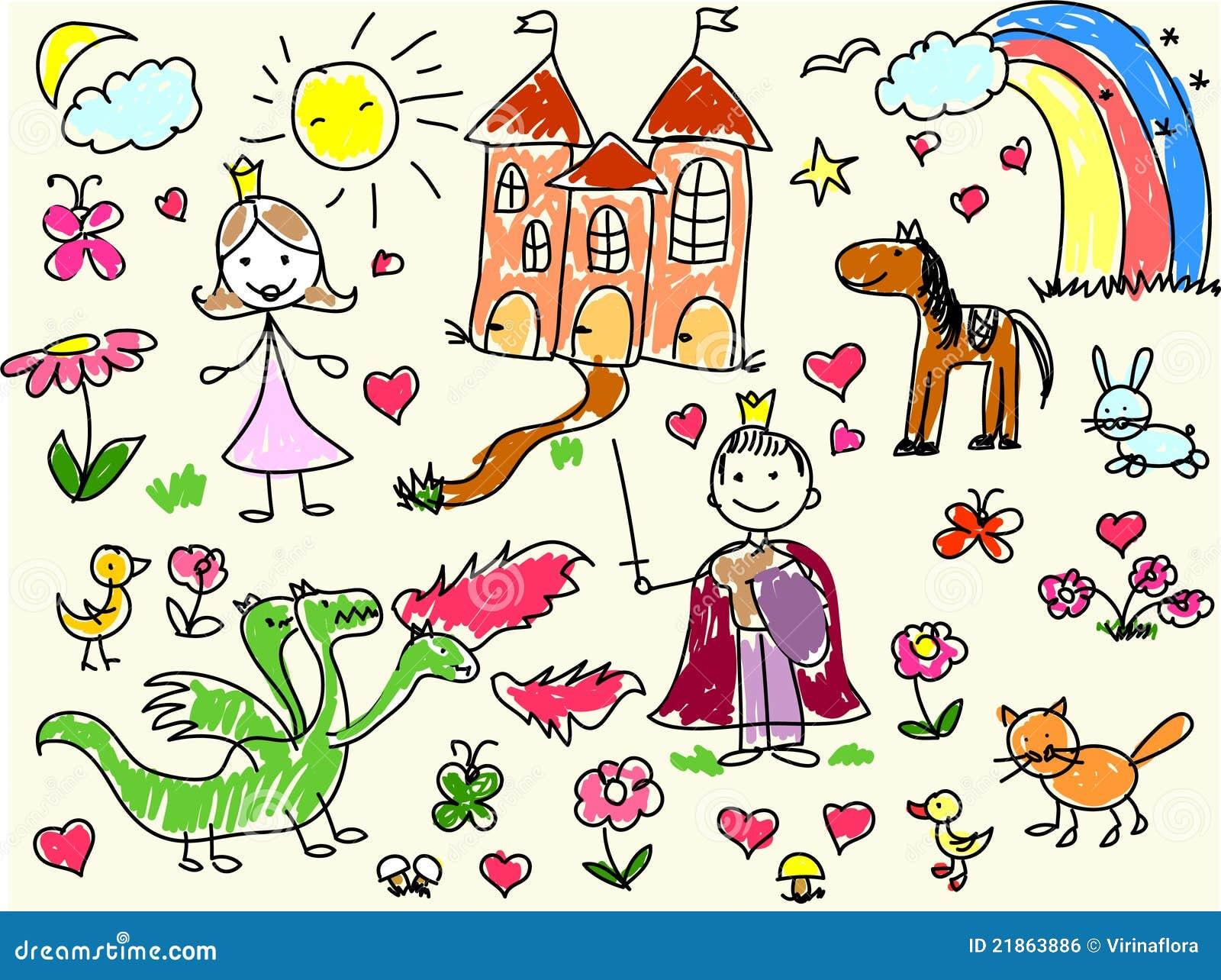 children s drawings vector 21863886jpg 13001060 vrkids recherche pinterest child artist kid drawings and drawings