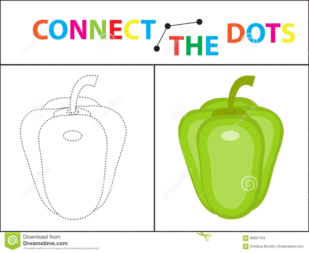 Children S Educational Game For Motor Skills. Connect The Dots ...