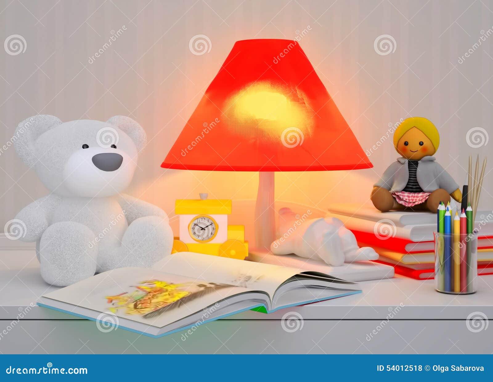 Children\'s Fairy Tale For The Night. Stock Illustration ...