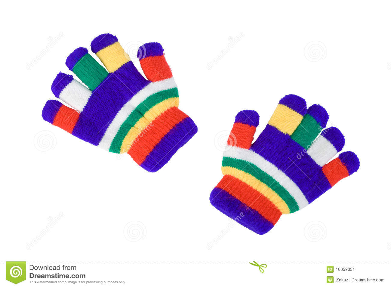 Winter glove clipart