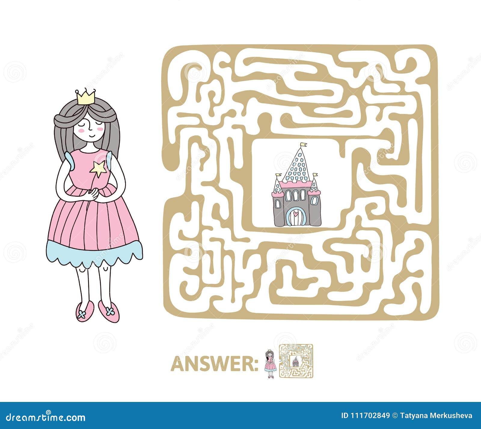 Princess Maze Game Stock Illustrations 143 Princess Maze Game Stock Illustrations Vectors Clipart Dreamstime
