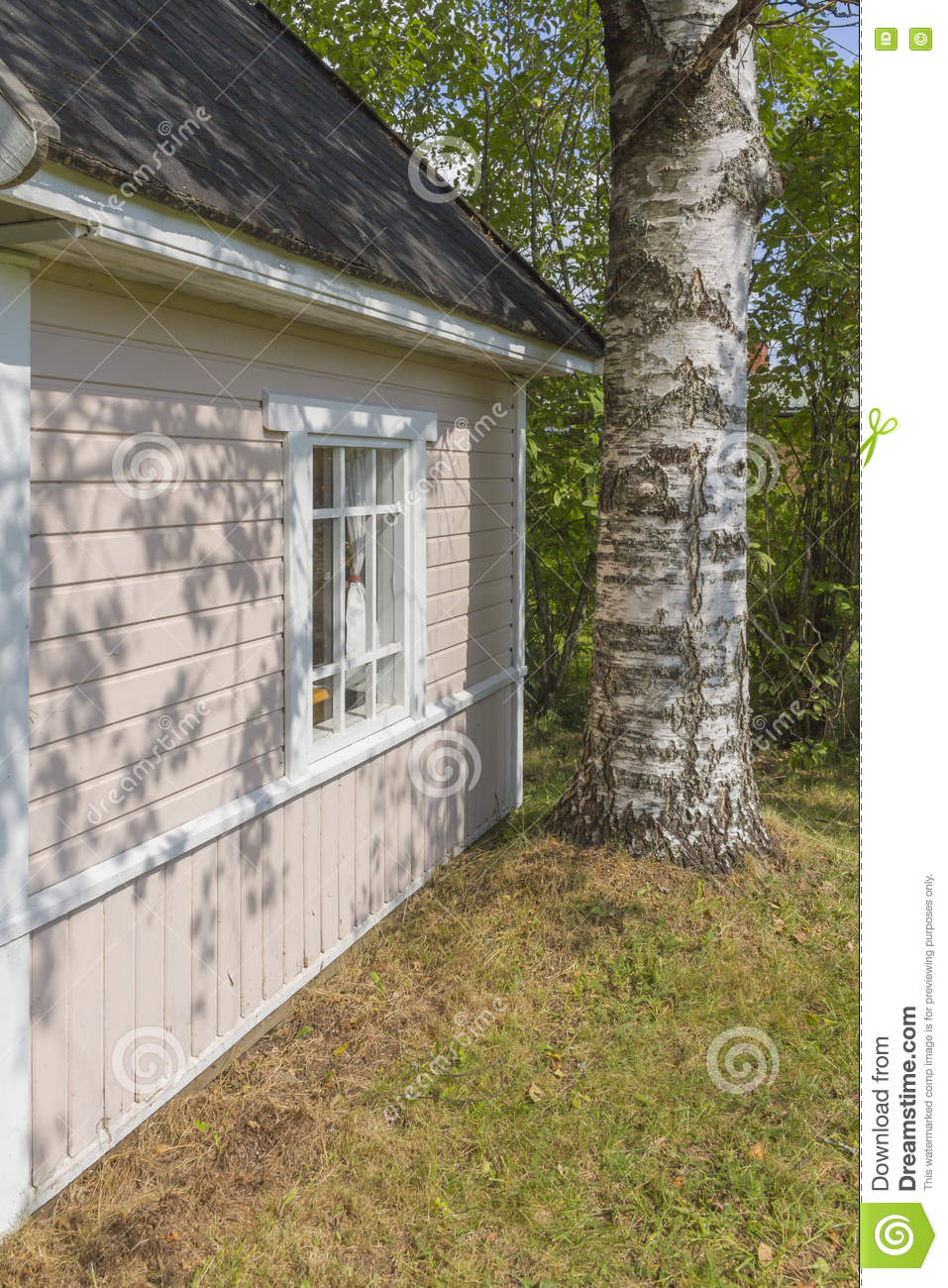 Childrens Playhouse Stock Photo Image Of Playing House 74887832