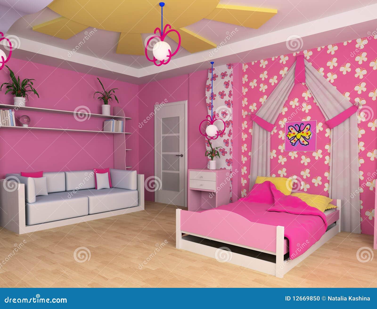 Children 39 S Room Stock Photo Image 12669850