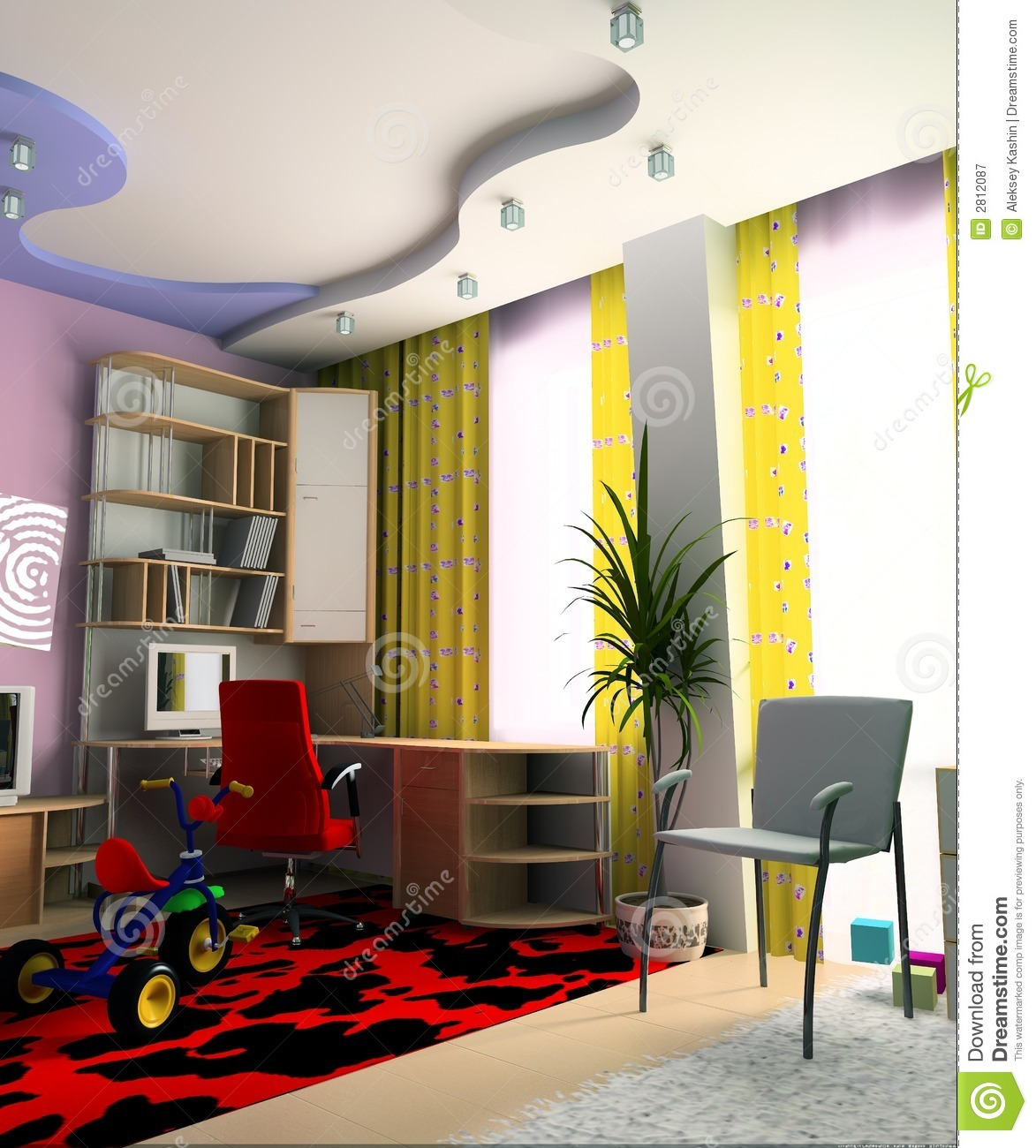 Children 39 S Room Royalty Free Stock Photography Image