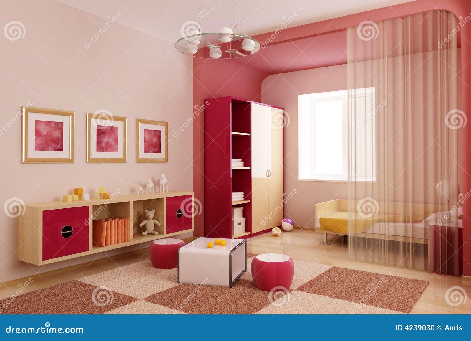 2d and 3d baby room interior design joy studio design for Room design 2d