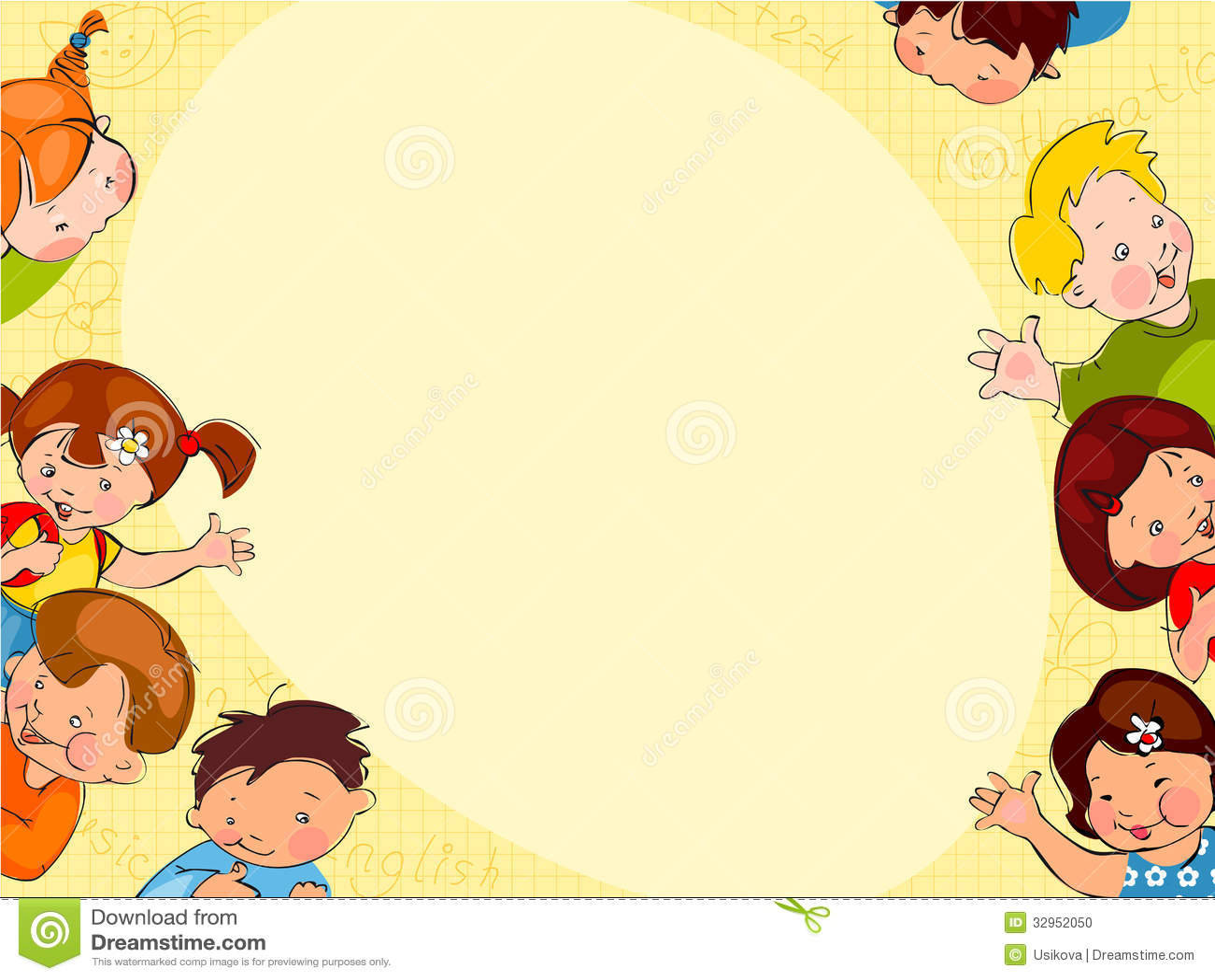 kids school background designs