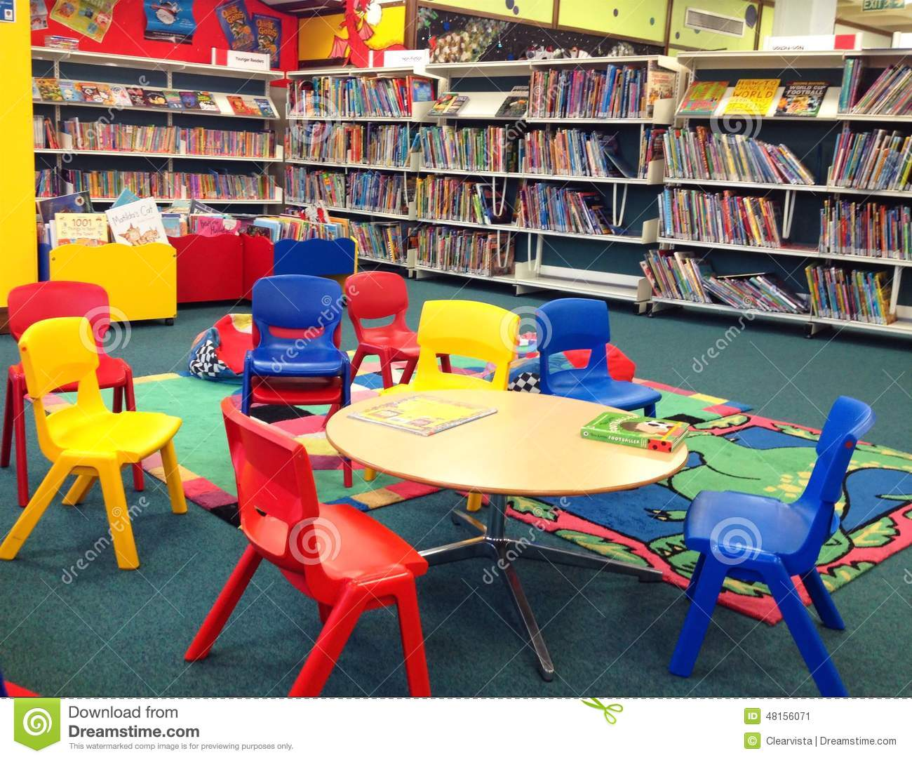 Editorial Photo Children S Seating Public Library Tables Books Background Bedford United Kingdom Image48156071 on books desktop themes