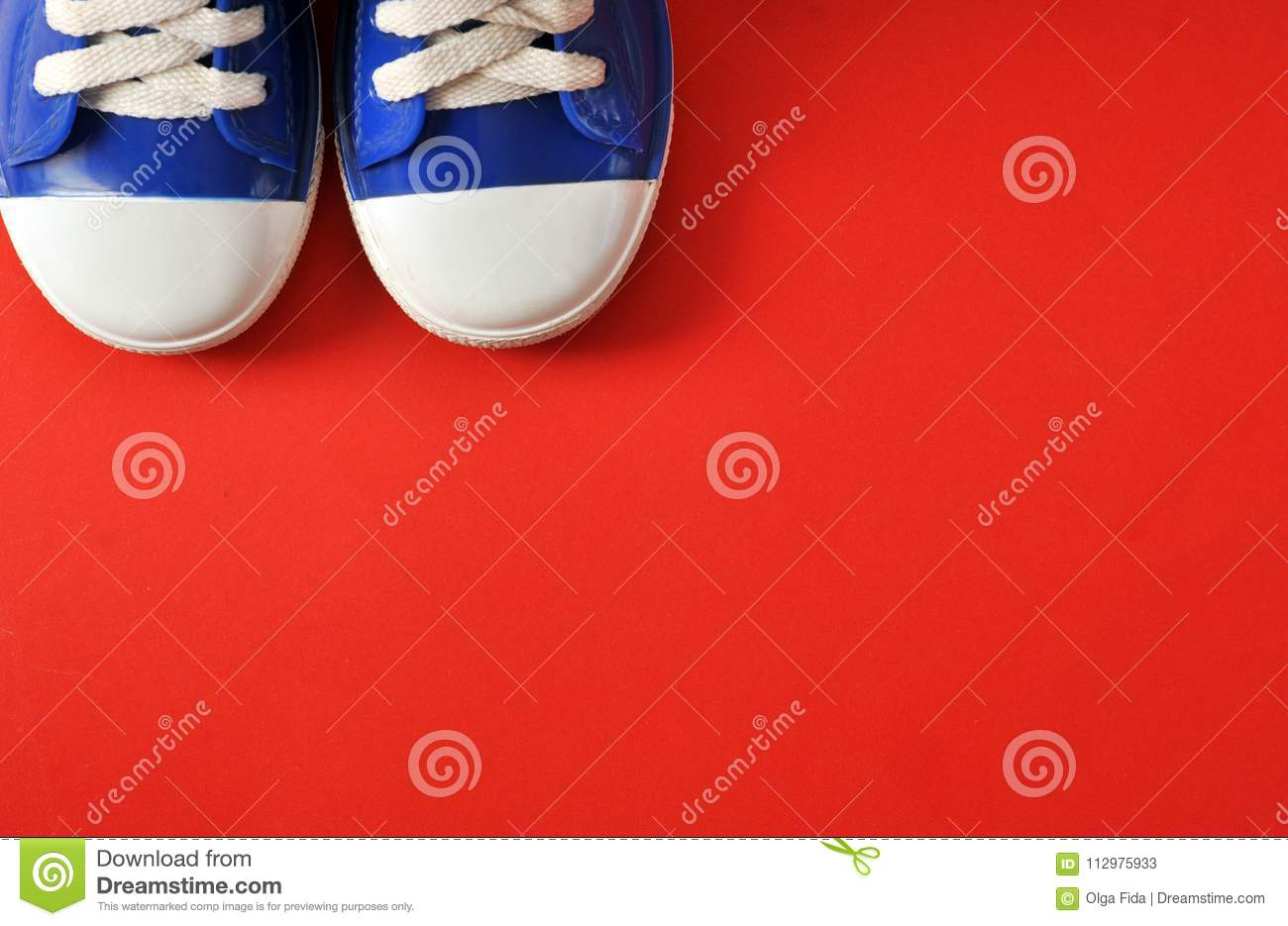 Children`s, sports sneakers