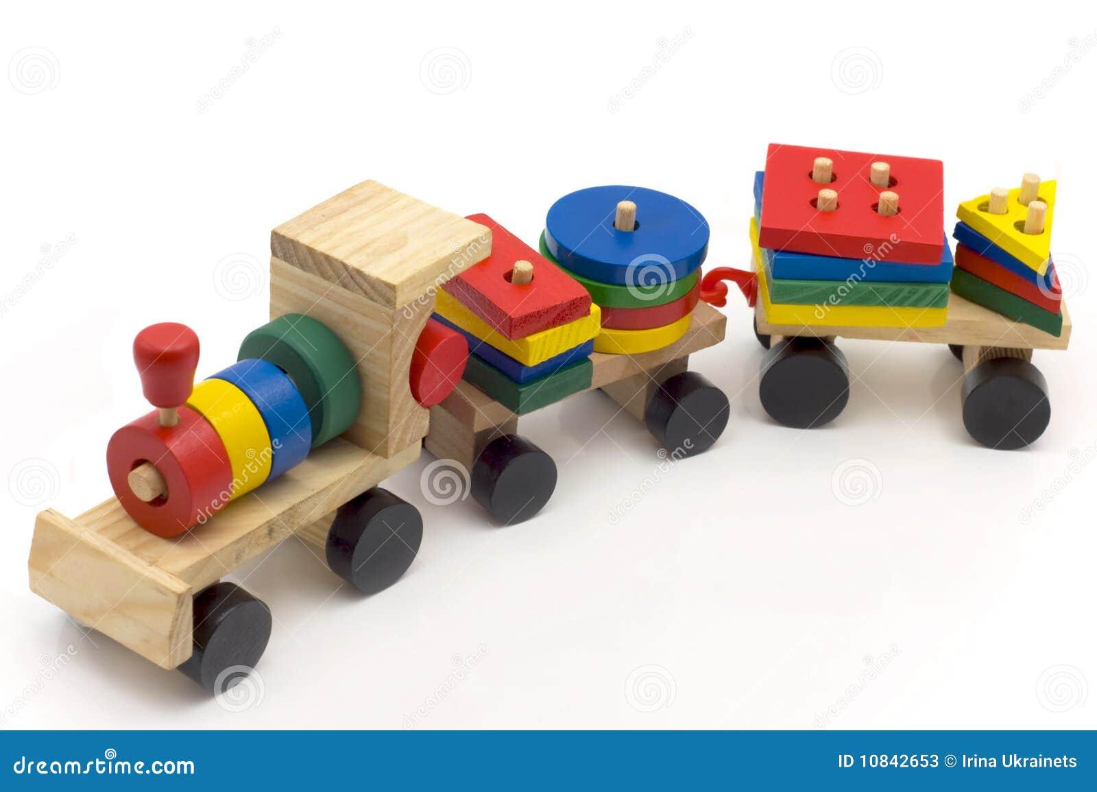 Children's Toy Train Stock Photos - Image: 10842653