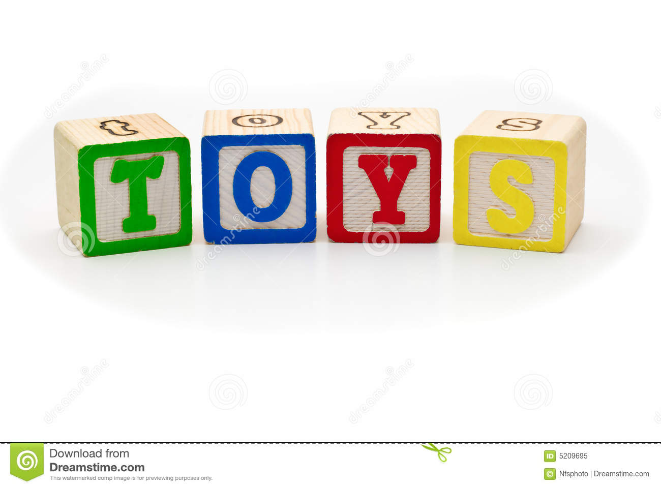 Children S Wood Blocks Spelling The Word Toys Over Royalty