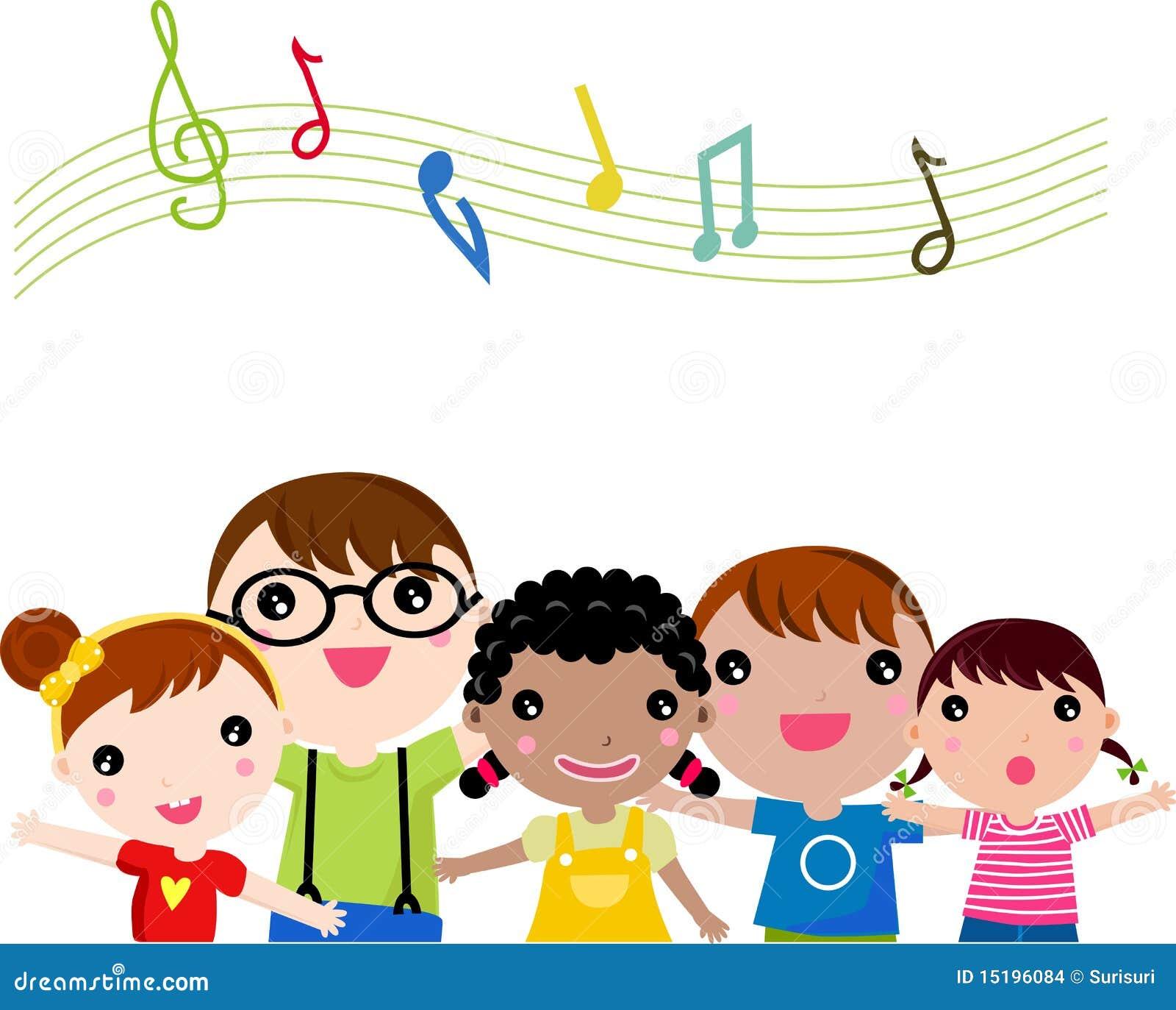 child singer clipart - photo #34