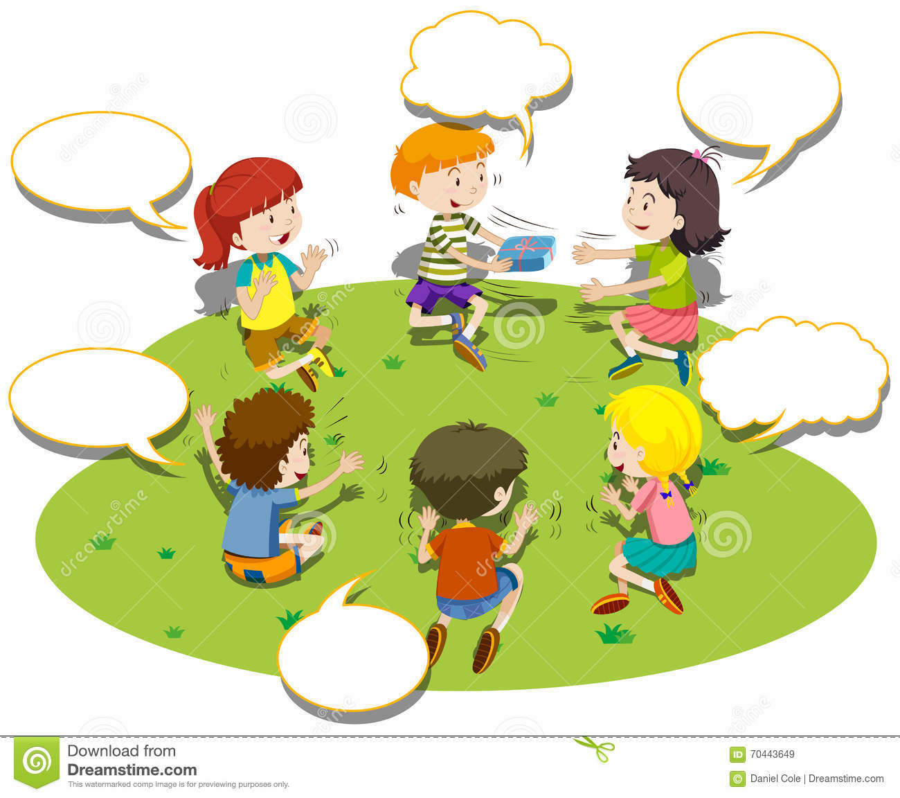 children sit in circle and play game stock vector image school bus clip art border school bus clip art download free
