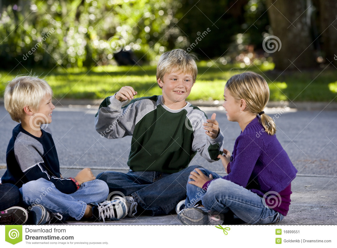 how to talk and be friends with older kids