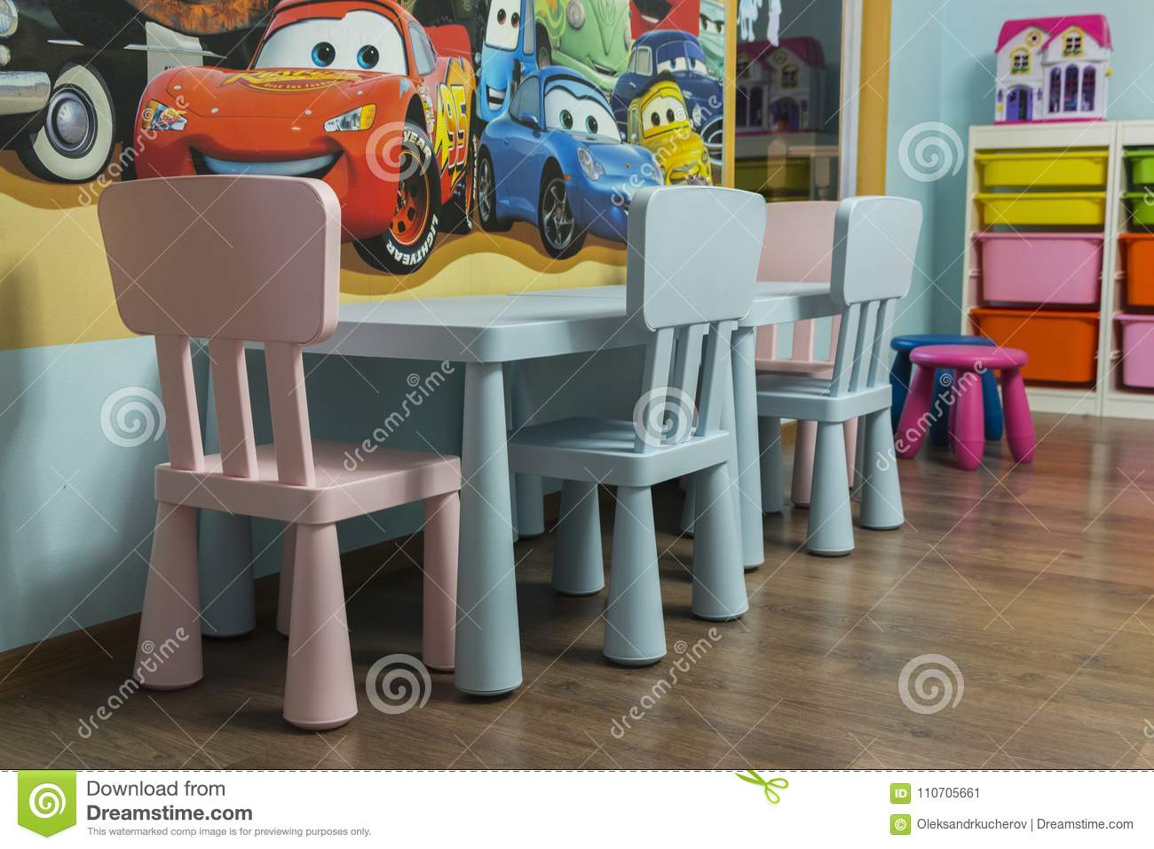 Children Table And Chairs Editorial Photo Image Of Little 110705661