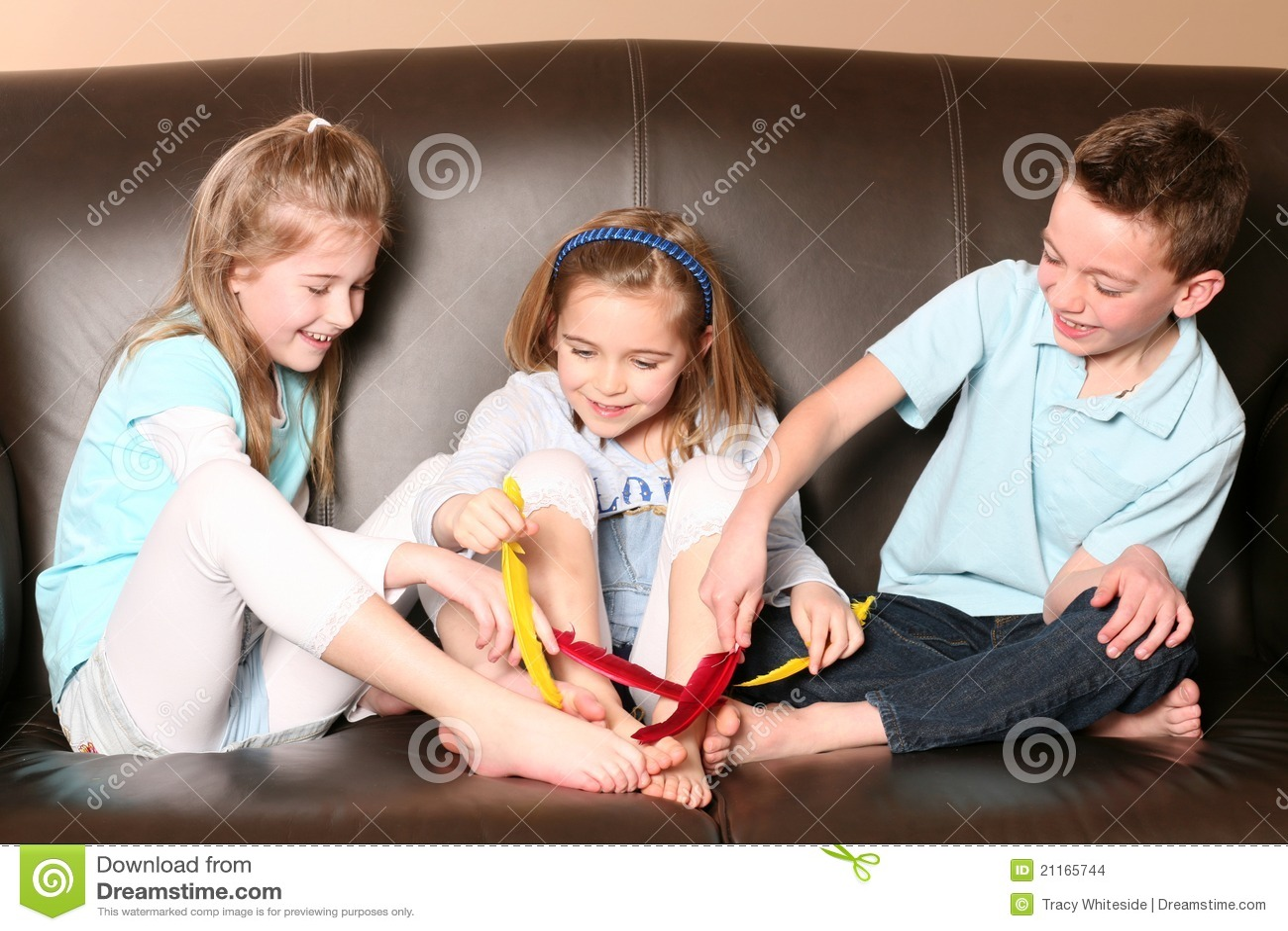 French Girls Feet Tickle