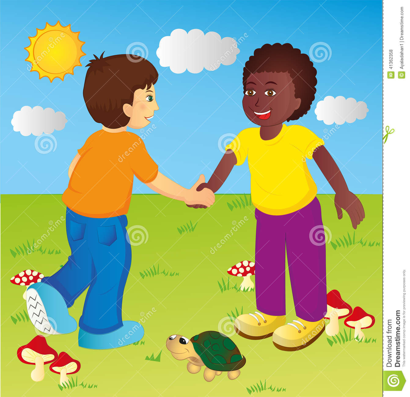Children Stock Vector - Image: 41362358