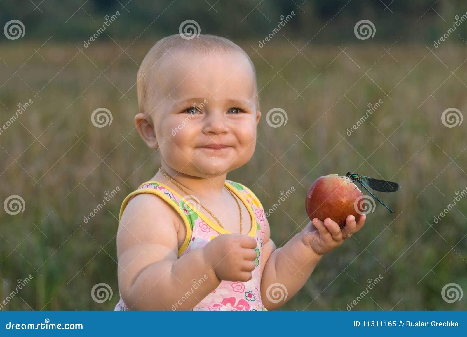 Children very much love fruit.