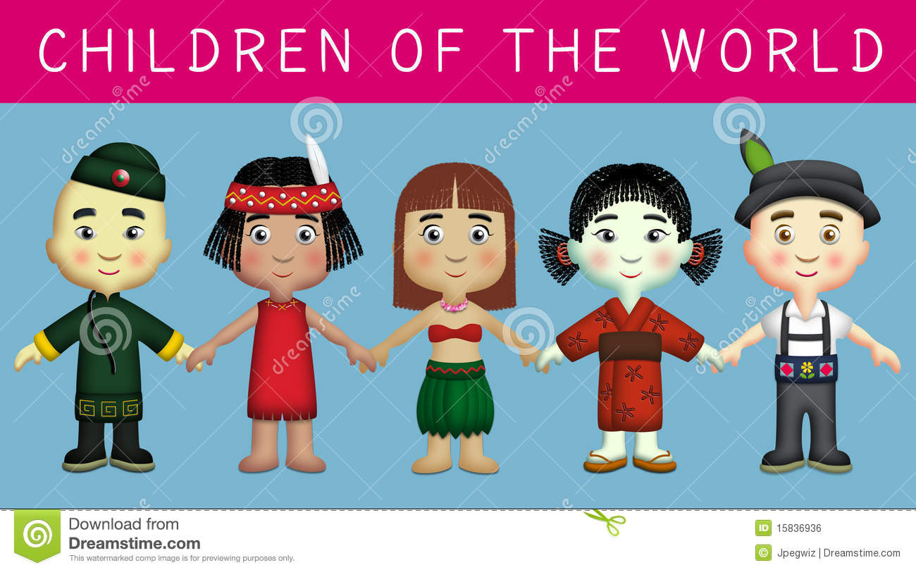 Children Of The World Royalty Free Stock Image - Image: 15836936