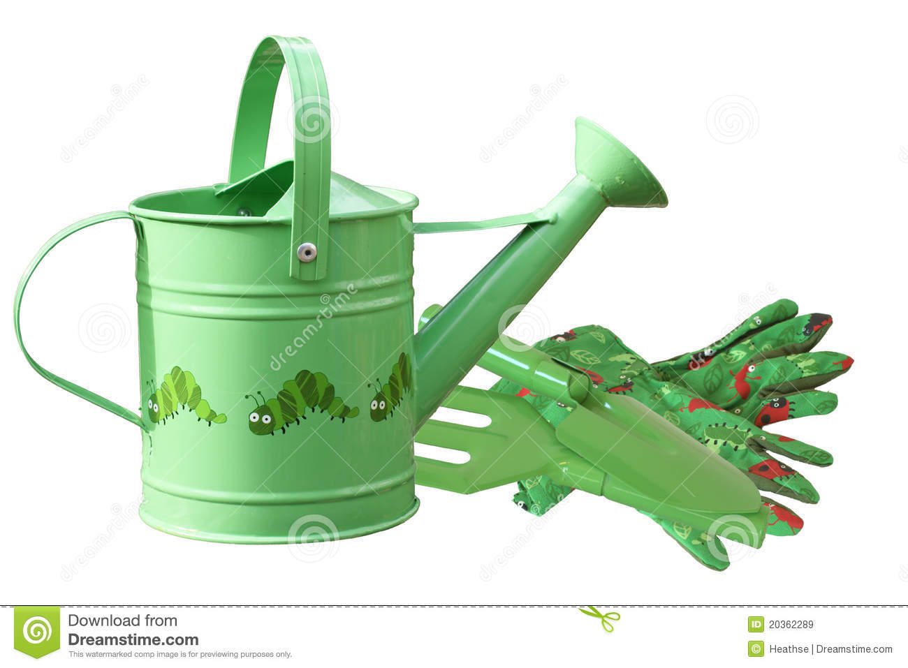 Childrens gardening tools royalty free stock images for Childrens gardening tools