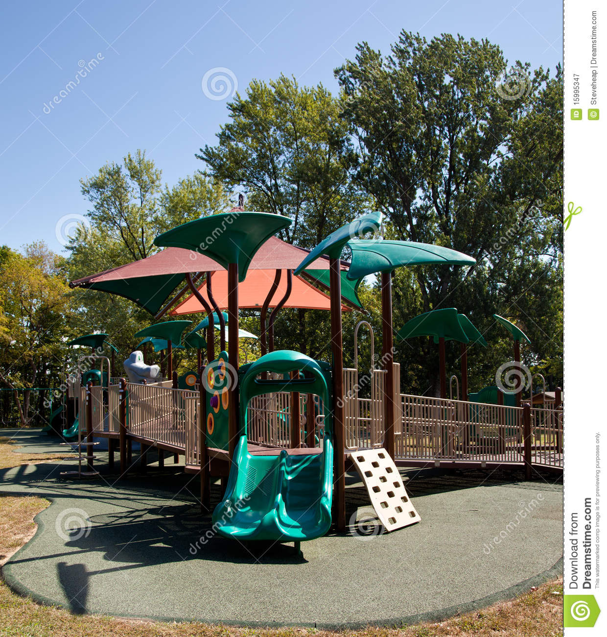 Childrens Playground Royalty Free Stock Photography ...