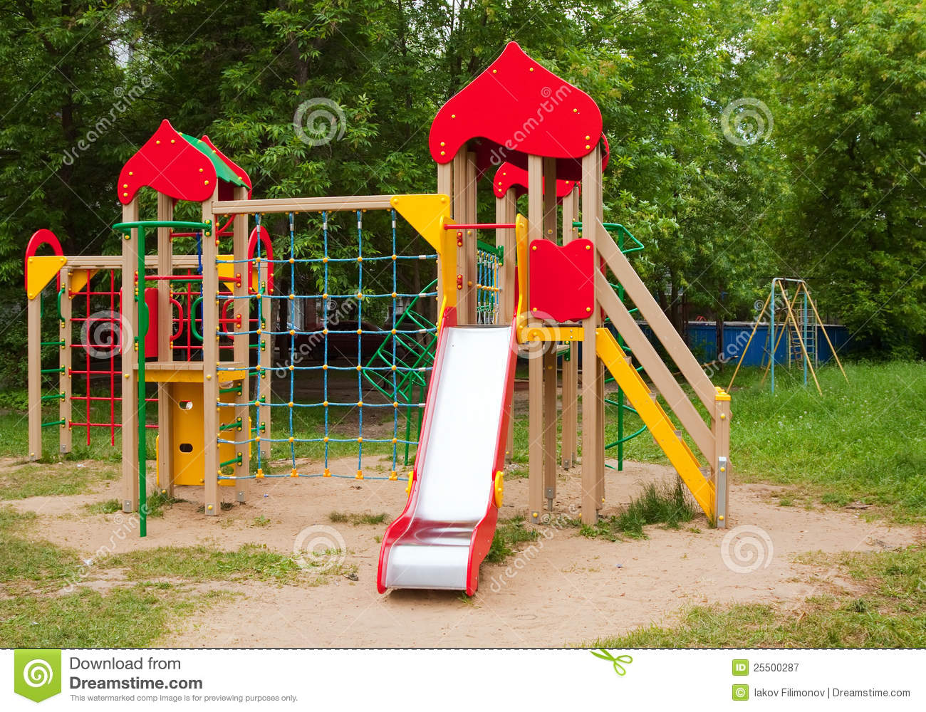 Childrens Playground Area Royalty Free Stock Photography ...