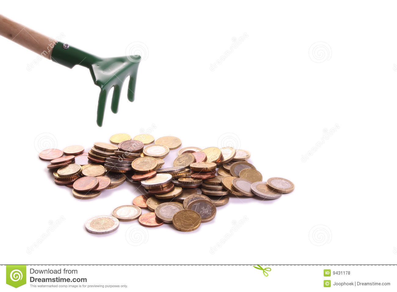 childrens raker collecting money stock photo image of success