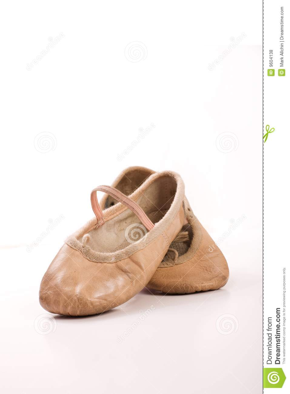Childrens White Ballet Shoes