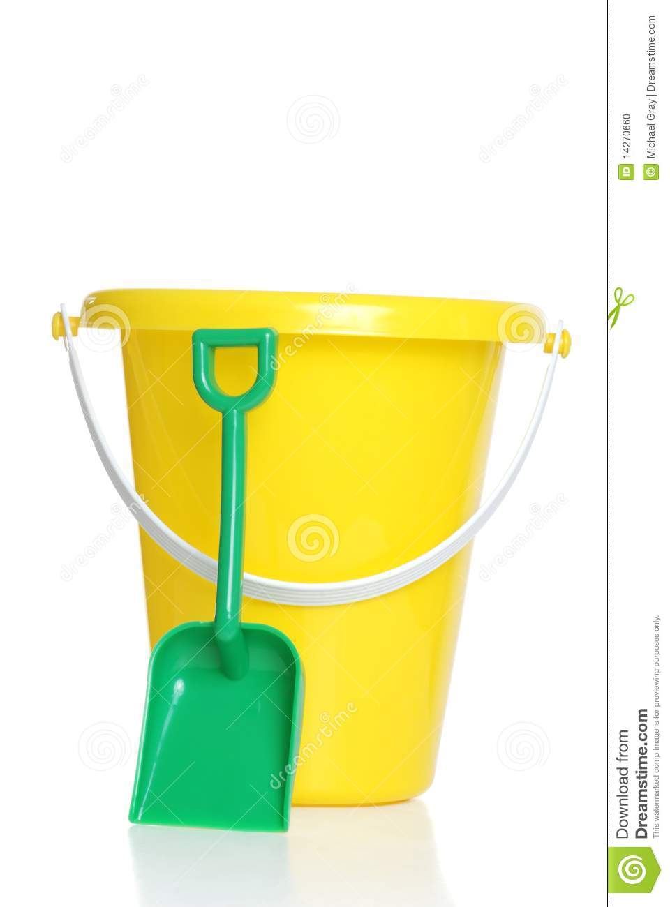 Childs pail and shovel